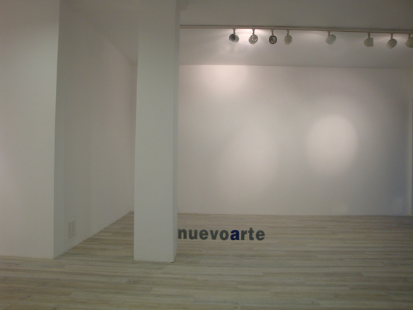 Vista de la nueva galería nuevoarte