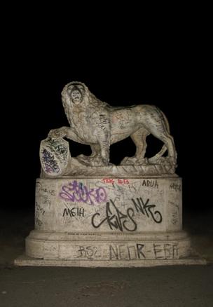 JUAN CARLOS ROBLES, Il leone, Fotografía color