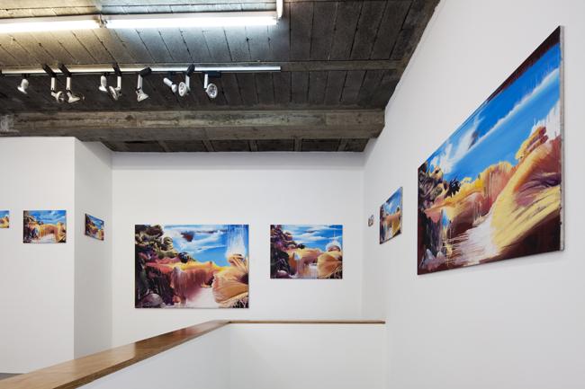 Thomas Jocher. Vista de la exposición Aquí mismo. Junio 2011