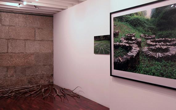 Vista de la exposición de José Paz