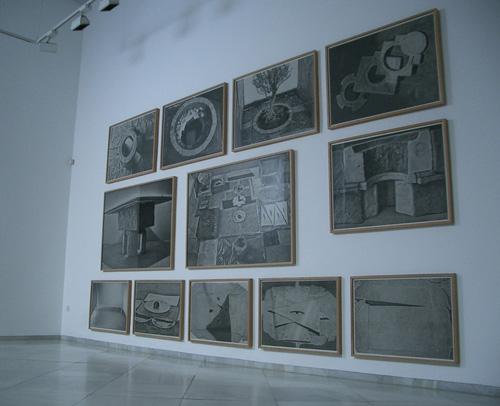 Vista parcial exposición José Miguel Pereñíguez