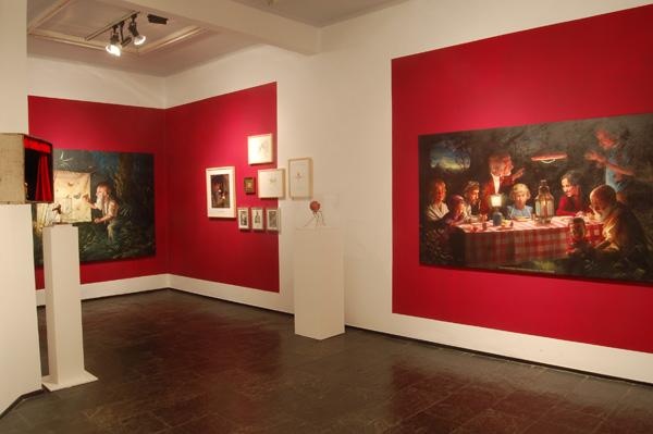 Exposición de Jose Luis Serzo. 2007