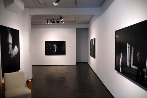 Vista de la exposición de Daniel Blaufuks