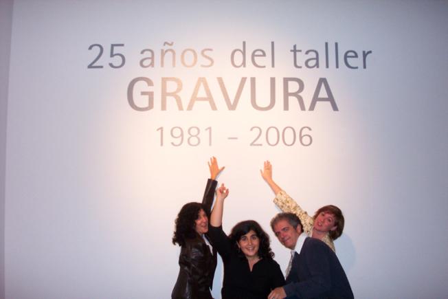 Exposición 25 Años del Taller Gravura