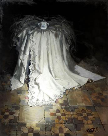 R.Catala-Azucarero-Oleo sobre lienzo.92x73 cm.