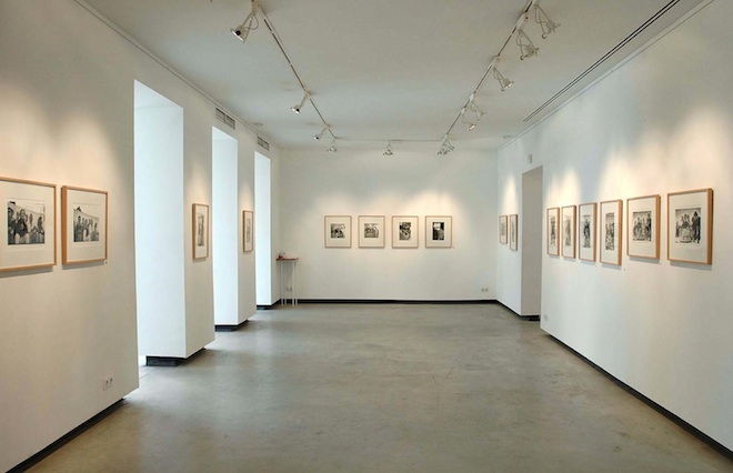 Sala central Galería Hartmann