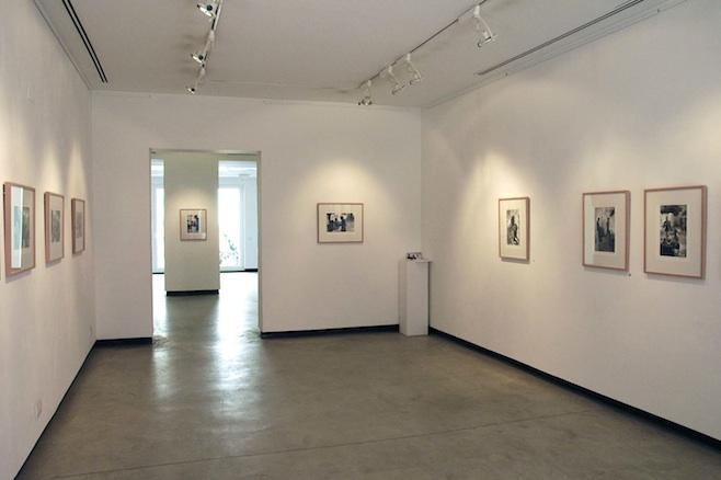 Sala entrada Galería Hartmann