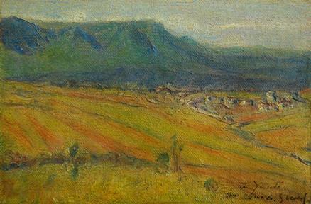 Adolfo Guiard Vista del Valle de Ayala