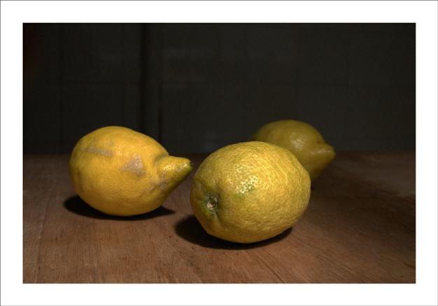 DANIEL BLAUFUKS, Três limões, C-print 2010