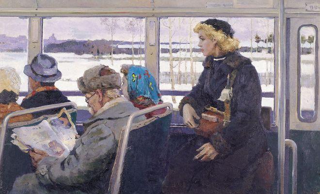 El autobús 1955, Vladimir Stroyev