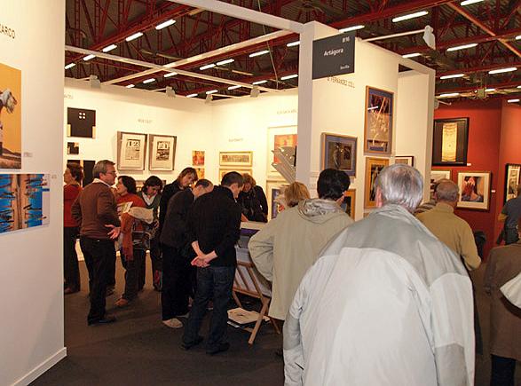 Stand de Artágora en Estampa 2006