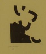 Zur III.- Grabado de Eduardo CHILLIDA