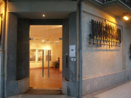 Exterior sala Juan de Lizarazu de Urretxu