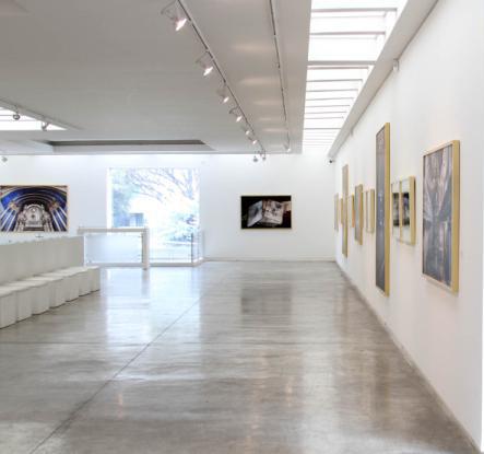 Vista de la galería