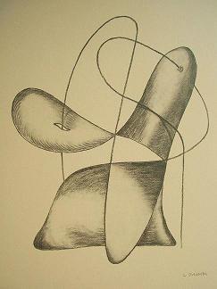 Obra Gràfica Leandro Cristòfol 55 x 54  1933