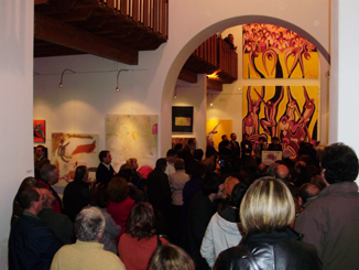 Inauguración de la Exposición Internacional Vive-Arte 2009