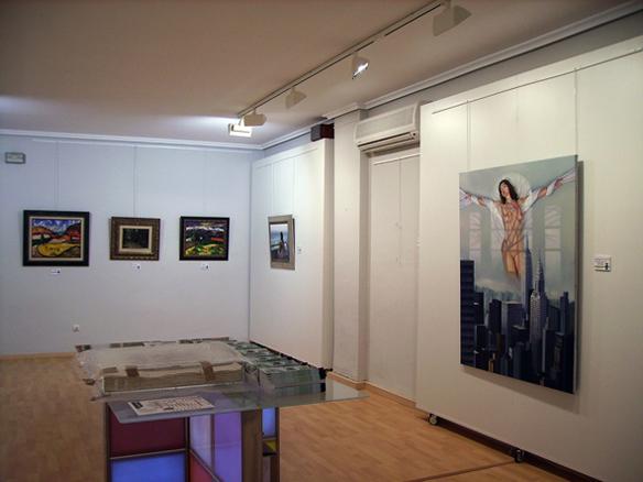 Obras de B. Palencia, J. Sorolla, E. Naranjo y E. Donoso en la galería