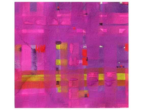 Liliana Fleurquin. Gouache sobre papel. 15 x 15 cm. 2008
