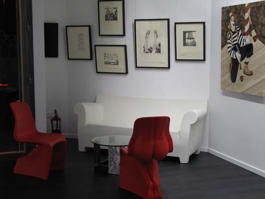Interior sala zona serigrafía