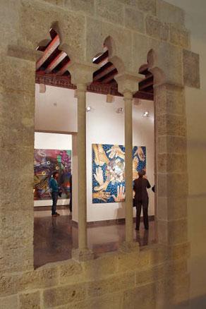 Detalle del interior de la primera planta. Fundación Chirivella Soriano.
