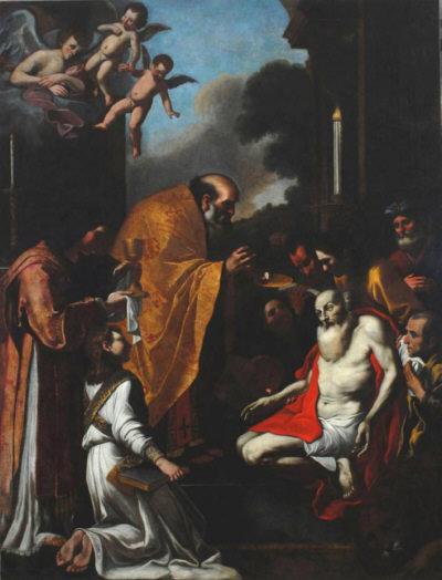 La última comunión de san Jerónimo