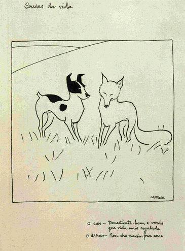 Debuxos do álbum Cousas da vida