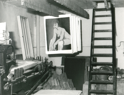 Amsterdam Taller Piet Clement, 1979