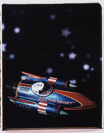 Untitled, 2007. Serie Space. Polaroid Polacolor ER land Film