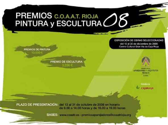 Premios COAAT Rioja de Pintura y Escultura