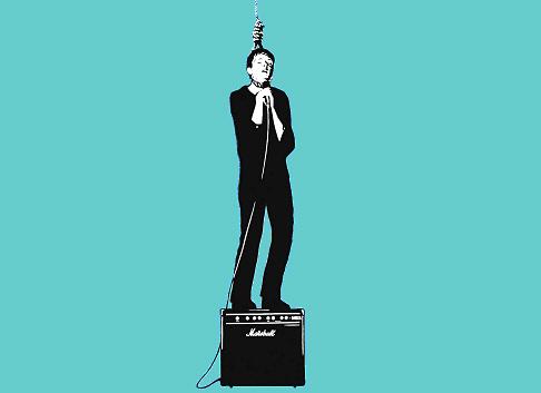Pejac, Ian Curtis Tribute