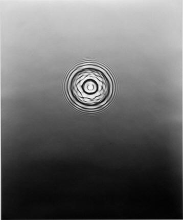 Adam Fuss, ARK, 2005. Unique silver gelatin print photogram, 61x51 cm.