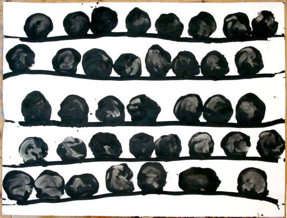 Frederic Amat, Tzompantli, 2003