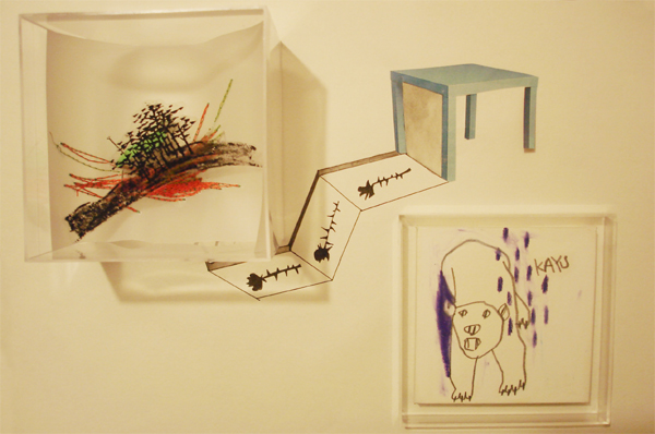 Exposición - Papel y arroz