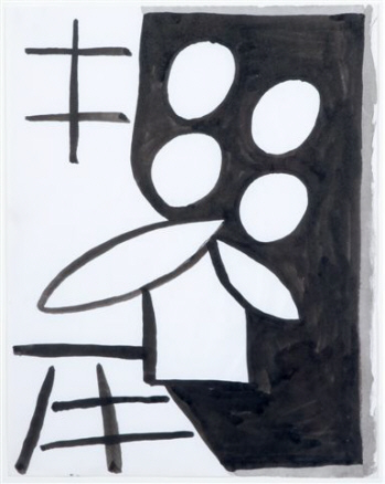 Sombras luminosas y maceta,1979