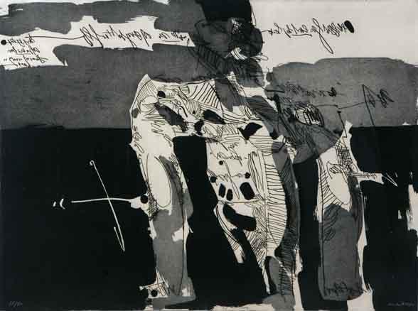 Manolo Millares, Serie Antropofauna, 1970