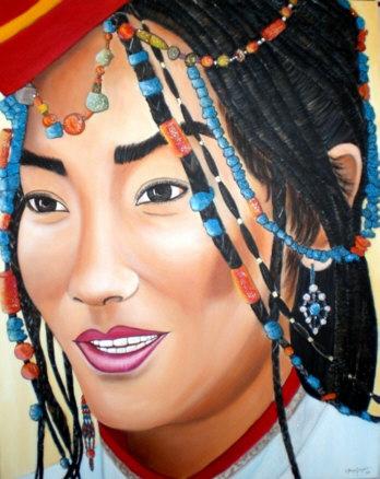 Carmen Gomez Junyent, Mirada Tibetana