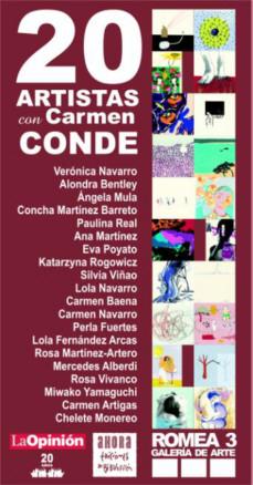 20 artistas murcianas con Carmen Conde