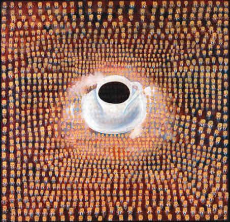 Thomas Bayrle, Maxwell Kaffee, 1967