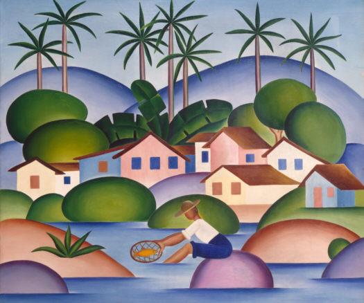 Tarsila do Amaral, Pescador, 1925