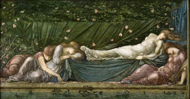 El soñar a lo largo de la historia. Imagen obtenida de: https://www.arteinformado.com/agenda/f/la-bella-durmiente-pintura-victoriana-del-museo-de-arte-de-ponce-19871