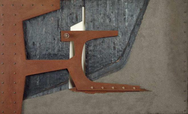 Salvador Soria, Hierro, madera, espacio, forma, 1978