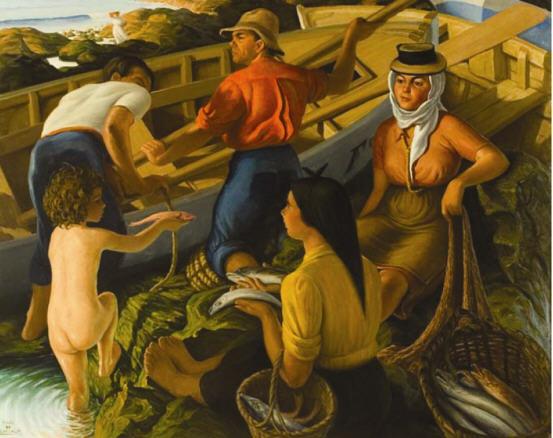 Pedro de Guezala, Pescadores