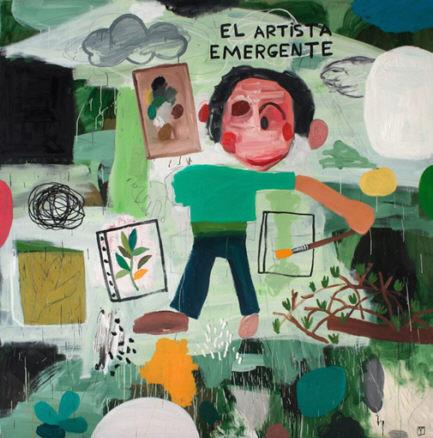 Matías Sánchez, El artista emergente