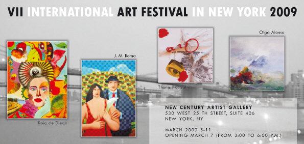 VII International Art Festival in New York 2009