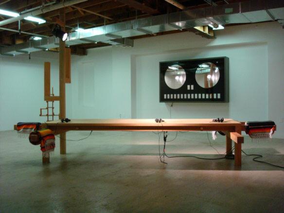 Saâdane Afif, The Rehearsal Blue time vs Suspense, 2007