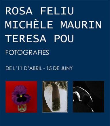 Rosa Feliu, Michèle Maurin, Teresa Pou
