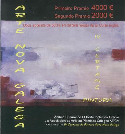 IV Certamen de Pintura Arte Nova Galega