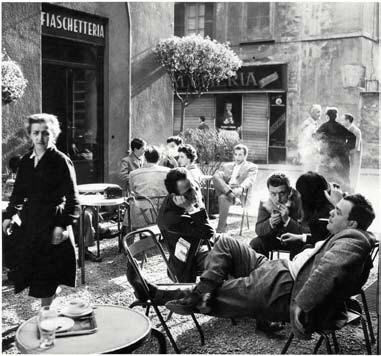 Ugo Mulas, Bar Giamaica, Milán, 1953-54
