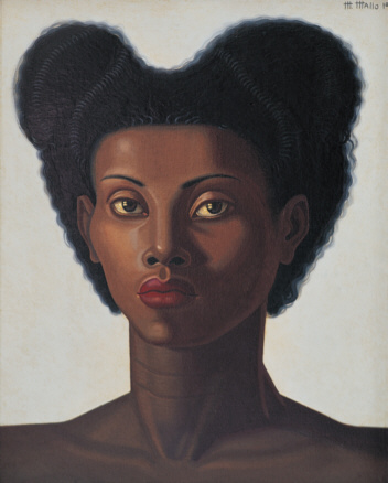 Maruja Mallo, Cabeza de negra, 1946