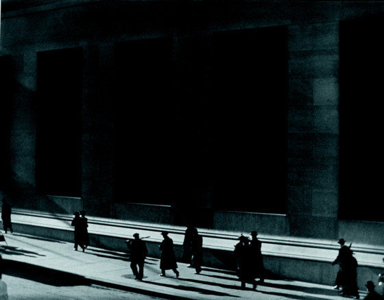 Paul Strand, Wall Street, New York, 1915